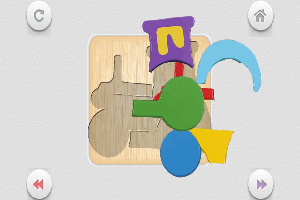 儿童木拼图游戏 – 搞趣网